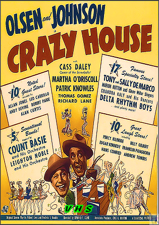 Crazy House VHS