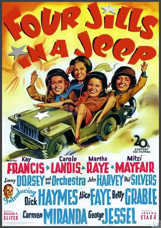 Four Jills in a Jeep DVD