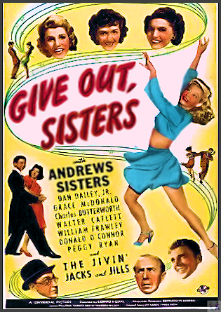Give Out Sisters DVD