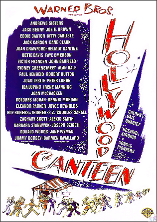 Hollywood Canteen DVD