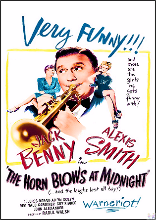 Horn Blows At Midnight DVD