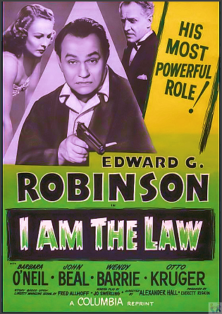 I Am The Law DVD