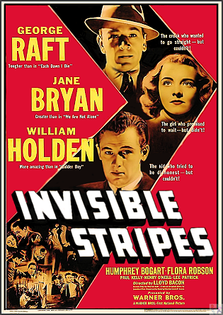 Invisible Stripes DVD