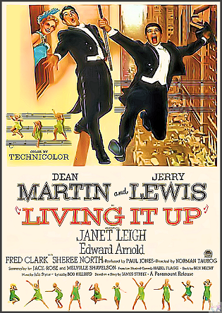 Living It Up! DVD: (Vintage West Coast Swing)