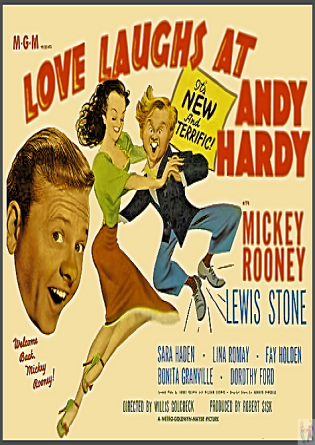 Love Laughs at Andy Hardy! DVD