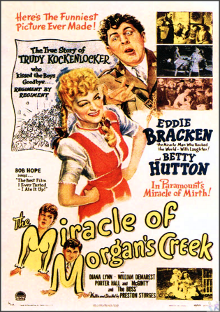 Miracle at Morgans Creek DVD