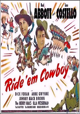 Ride 'Em Cowboy DVD