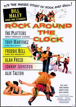 Rock Around The Clock DVD: (Vintage West Coast Swing)