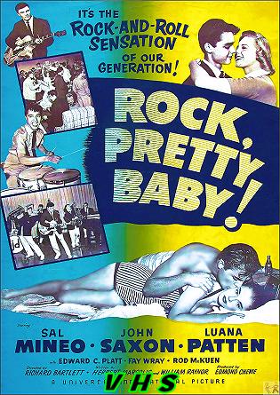 Rock Pretty Baby! VHS
