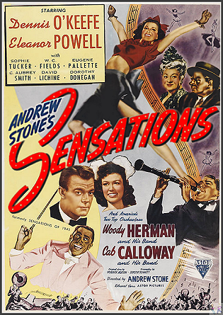 Sensations of 1945 DVD