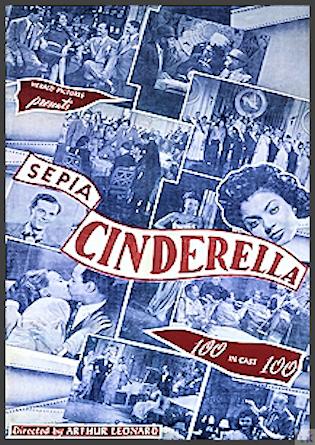 Sepia Cinderella DVD