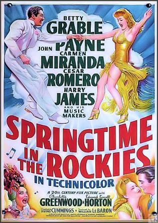 Springtime in the Rockies DVD