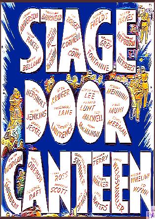 Stage Door Canteen DVD