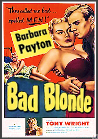 Bad Blonde is available on this DVD