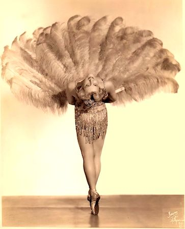 Ann Palmer Vintage Burlesque dancer photo 1