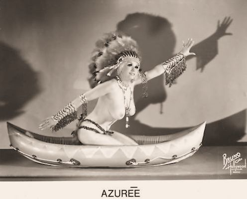 AZuree Burlesque dancer photo