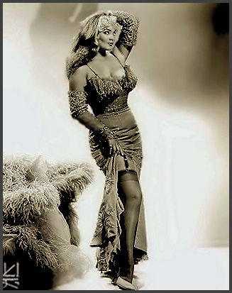 Page I: Vintage Burlesque Dancer History Index List I (Pictured: Stripper Irma The Body) Listings
