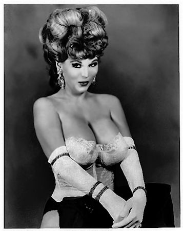 Busty Starr Vintage Burlesque dancer photo 1