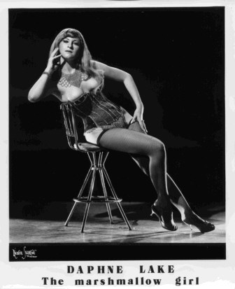 Daphne Lake Old Vintage Burlesque dancer photo 1