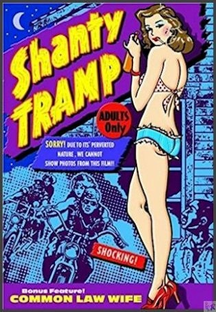 a 'Double Feature': Shanty Tramp and Common Law Wife DVD. Two fun and campy Short films