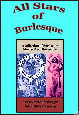 'All Stars Of Burlesque' is Available on this DVD