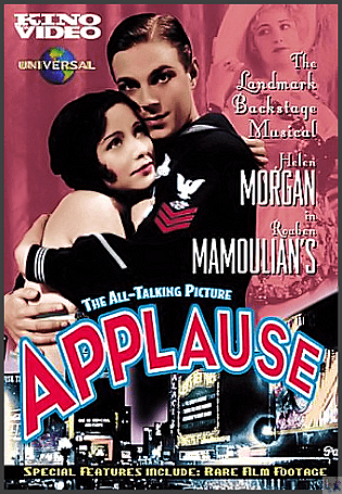 'Applause' Featured on this DVD