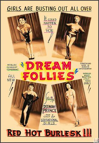 Dream Follies (with Lenny and Honey Bruce, Sally Marr) is Available on this Page