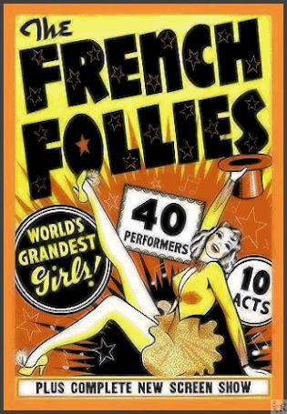 French Follies is on 'Strip, Strip Hooray' DVD (Poster shown)