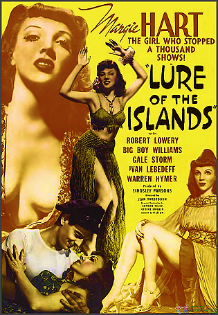 Lure Of The Islands is Available on this DVD
