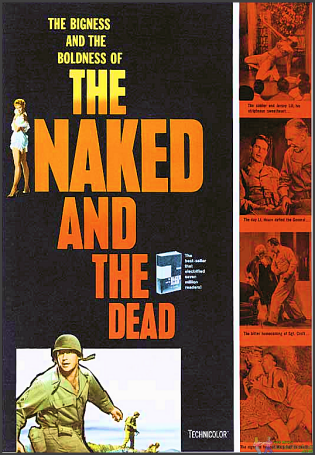 Naked and the Dead DVD
