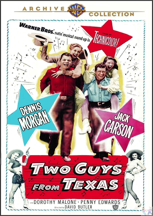 Two Guys from Texas on DVD