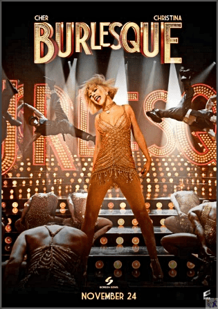 BURLESQUE Is Available on this Multi-Format Blue-Ray-DVD
