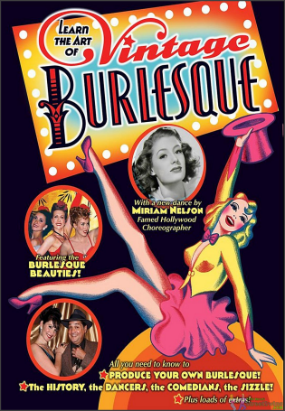 Learn the Art of Burlesque is Available on this DVD