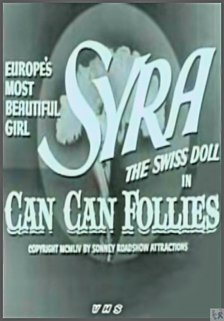 Can Can Follies Is sometimes Available on this VHS