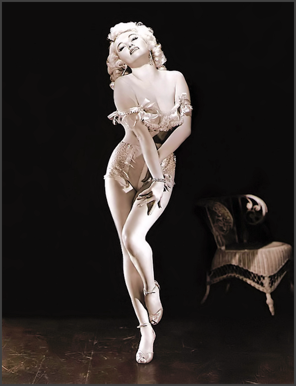 Streetswing's Burlesque History Archives Main Index Page (Photo of: Dixie Evans)