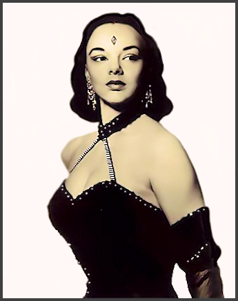 Page A: Vintage Burlesque Dancer History Index List A (Pictured: Stripper Kim Athas) Listings