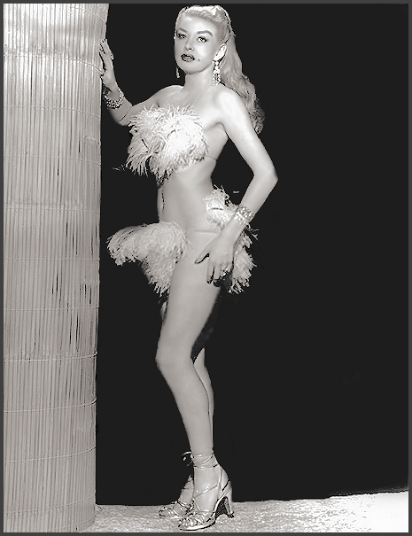 Page K: Vintage Burlesque Dancer History Index List K (Pictured: Stripper Miss Sunny Knight) Listings