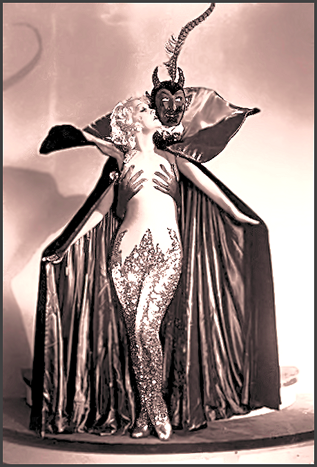 Page M: Vintage Burlesque Actress Dancer History Index List M (Pictured: Burlesque Actress: Marian Martin) Listings