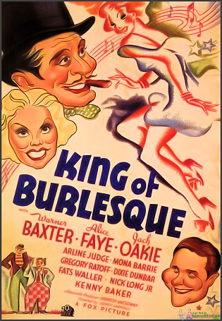 King Of Burlesque DVD