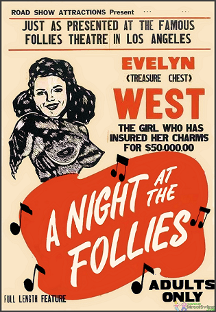 Night At The Follies is Available on this DVD