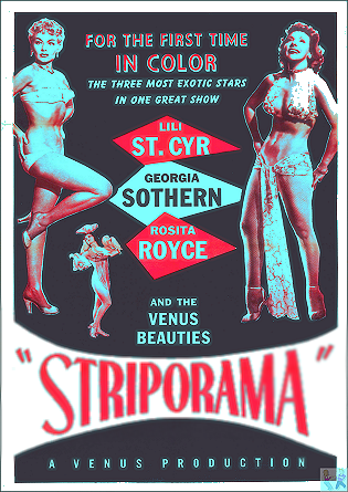 Strip-O-Rama DVD (also includes: Mandy Kay, Nola Lee, Pat Lombard, Doris MacKenzie, Marinette and Andre, Anne Slayton, Betty Tunell)