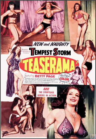 Teaserama DVD: One of the most popular Vintage Burlesque DVD's in the world