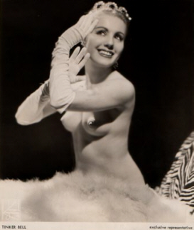 Tinker Bell Vintage Burlesque dancer photo 1
