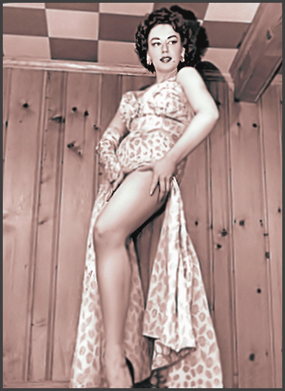 Page U: Vintage Burlesque Dancer History Index List U (Pictured: Miss Paula Ushan) Listings