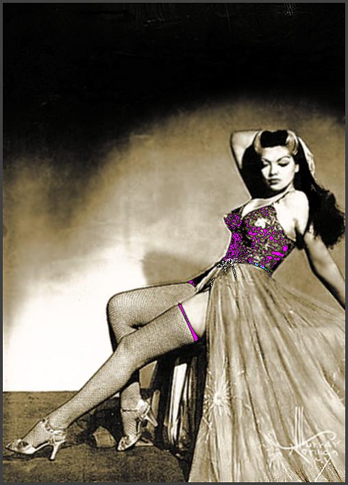 Page XYZ: Vintage Burlesque Dancer History Index List XYZ (Pictured: Burlesque Stripper Miss Zorita) Listings