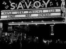 Nightclubs 'X' : the Savoy Ballroom (sorry no photo for X)