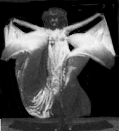 Annabella Whitford Moore Vintage American female dancer who danced in a few early Edison  / Biograph type movie shorts Films. Wearing her Serpentine Dress doing the Serpentine dance.