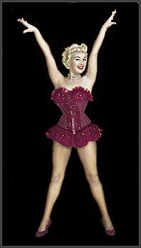 Page B: Vintage Dancer History Index List B (Pictured: Betty Grable) Listings