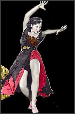 Page C: Vintage Dancer History Index List C (Pictured: Cyd Charisse) Listings
