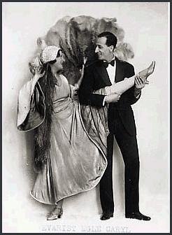 Page E: Vintage Dancer History Index List E (Pictured: Egle Caryle) Listings
